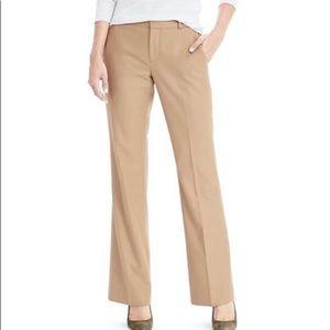 Banana Republic Logan Fit Wool Trousers, Sz 10 NWT